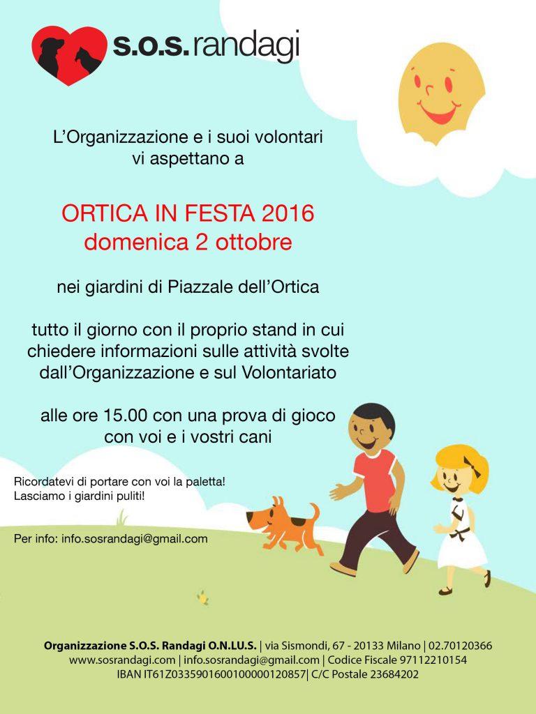 Ortica in Festa 2016